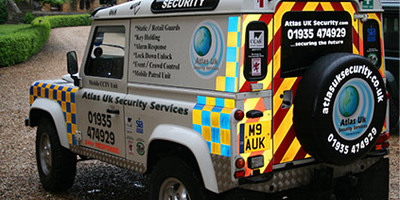 Security Services Website, a project we completed for Atlas UK Security Services Ltd
