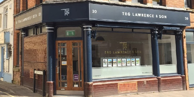 Estate Agent Website, a project we completed for TRG Lawrence & Son