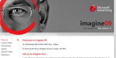 Imagine 09, a project we completed for Microsoft Advertising